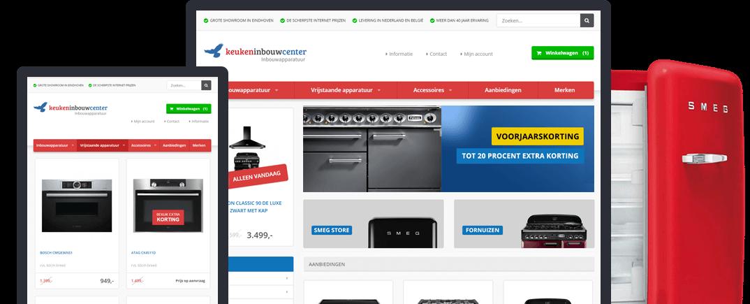 Keukeninbouwcenter Intro